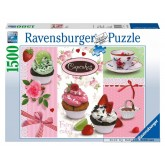 1500 pcs - Cupcakes (by Ravensburger)