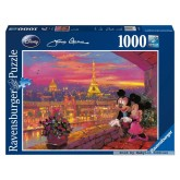 1000 pcs - Mickey in Paris - James Coleman (by Ravensburger)