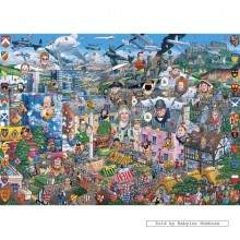 Jigsaw puzzle 1000 pcs - I Love Great Britain - Mike Jupp (by Gibsons)