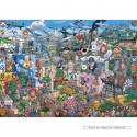 1000 pcs - I Love Great Britain - Mike Jupp (by Gibsons)