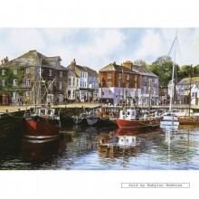 Jigsaw puzzle 1000 pcs - Padstow Harbour - Terry Harrison (by Gibsons)
