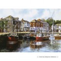 1000 pcs - Padstow Harbour - Terry Harrison (by Gibsons)