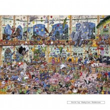 Jigsaw puzzle 1000 pcs - I Love Pets - Mike Jupp (by Gibsons)