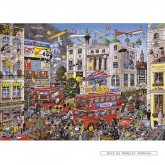 Jigsaw puzzle 1000 pcs - I Love London - Mike Jupp (by Gibsons)