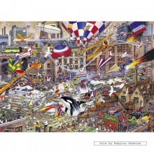 Jigsaw puzzle 1000 pcs - I Love the Weekend - Mike Jupp (by Gibsons)