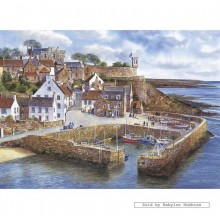 Jigsaw puzzle 1000 pcs - Crail Harbour - Terry Harrison (by Gibsons)