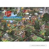 Jigsaw puzzle 1000 pcs - I Love Gardening - Mike Jupp (by Gibsons)