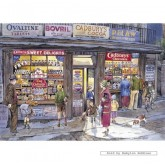 Jigsaw puzzle 500 pcs - The Corner Shop - Brian Eden (by Gibsons)