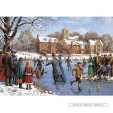Jigsaw puzzle 500 pcs - The Skaters - Kevin Walsh (by Gibsons)
