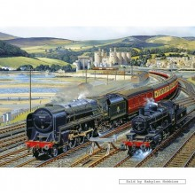 Jigsaw puzzle 1000 pcs - Gateway to Snowdonia - Barry Freeman (by Gibsons)
