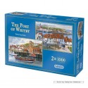 1000 pcs - The Port of Whitby (2x) - Terry Harrison (by Gibsons)