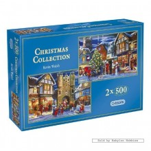 Jigsaw puzzle 500 pcs - Christmas Collection (2x) (by Gibsons)