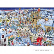 Jigsaw puzzle 1000 pcs - I Love Christmas  - Mike Jupp (by Gibsons)