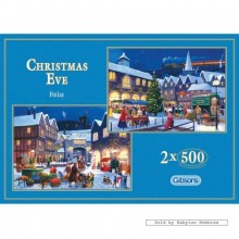 Jigsaw puzzle 500 pcs - Christmas Eve (2x) - John Finlay (by Gibsons)