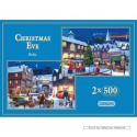500 pcs - Christmas Eve (2x) - John Finlay (by Gibsons)
