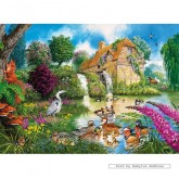 Jigsaw puzzle 1000 pcs - The Old Watermill  - John Francis (by Gibsons)
