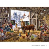Jigsaw puzzle 1000 pcs - The Cider Barn  - Michael Herring (by Gibsons)