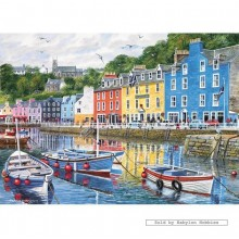 Jigsaw puzzle 1000 pcs - Tobermory  - Terry Harrison (by Gibsons)