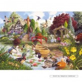 Jigsaw puzzle 1000 pcs - Enchanted Garden - John Francis (by Gibsons)
