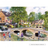 Jigsaw puzzle 1000 pcs - BOURTON ON THE WATER (by Gibsons)