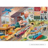 Jigsaw puzzle 1000 pcs - GRANDAD'S ATTIC - Trevor Mitchell (by Gibsons)