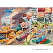 Jigsaw puzzle 1000 pcs - GRANDAD'S ATTIC - Trevor Mitchell (by Gibsons)