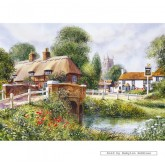 Jigsaw puzzle 500 pcs - Heart of the Village - Terry Harrison (by Gibsons)