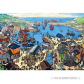 Jigsaw puzzle 500 pcs - Cornish Haven (by Gibsons)