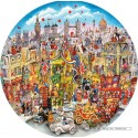 500 pcs - Rooftops & Pageantry - Bill Bell (by Gibsons)