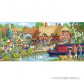 Jigsaw puzzle 636 pcs - Lunch at The Swan (by Gibsons)