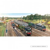 Jigsaw puzzle 636 pcs - New Forest Junction - Panorama (by Gibsons)
