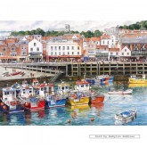 Jigsaw puzzle 1000 pcs - Scarborough - Terry Harrison (by Gibsons)