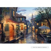 Jigsaw puzzle 1000 pcs - Eugene Lushpin - After the Rain - Eugene Lushpin (by Gibsons)