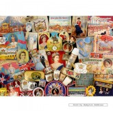 Jigsaw puzzle 1000 pcs - The Queen's Diamond Jubilee (by Gibsons)