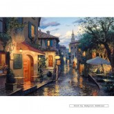 Jigsaw puzzle 2000 pcs - After the Rain - Eugene Lushpin (by Gibsons)