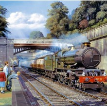 Jigsaw puzzle 1000 pcs - Express to Bristol  - Barry Freeman (by Gibsons)