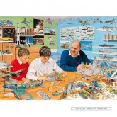Jigsaw puzzle 1000 pcs - The Model Makers  - Trevor Mitchell (by Gibsons)