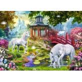 Jigsaw puzzle 260 pcs - Unicorn Summer (by Castorland)