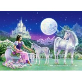 Jigsaw puzzle 120 pcs - Unicorn Princess (by Castorland)