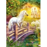 Jigsaw puzzle 120 pcs - Enchanted Garden (by Castorland)