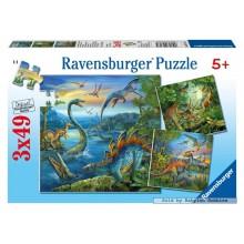 Jigsaw puzzle 49 pcs - Dino (by Ravensburger)