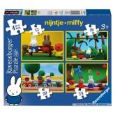 12 pcs - Miffy the Movie - Progressive (by Ravensburger)
