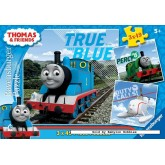 Jigsaw puzzle 49 pcs - Thomas & Friends (3x) - Thomas Locomotive (by Ravensburger)