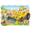 20 pcs - Bulldozer in action - Floor puzzles (by Castorland)