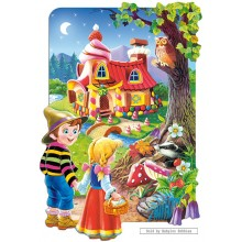 Jigsaw puzzle 20 pcs - Hansel and Gretel (by Castorland)