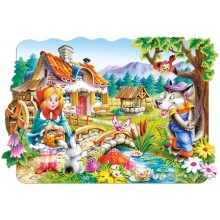Jigsaw puzzle 20 pcs - Little Red Riding Hood (by Castorland)
