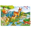 20 pcs - Little Deers (by Castorland)