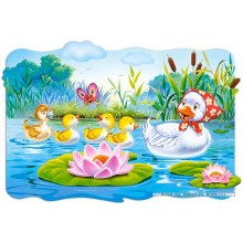 Jigsaw puzzle 20 pcs - Ugly Ducling (by Castorland)