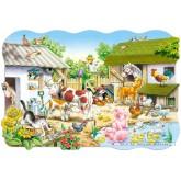 Jigsaw puzzle 20 pcs - Farm (by Castorland)