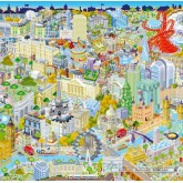 Jigsaw puzzle 500 pcs - London from Above (by Gibsons)